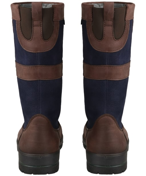 Dubarry Kildare Leather Boots - Navy / Brown