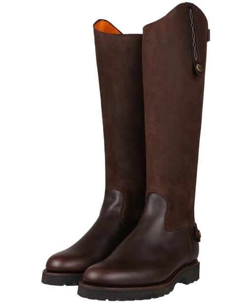 Women's Penelope Chilvers Land Gaucho Boots - Bitter Chocolate