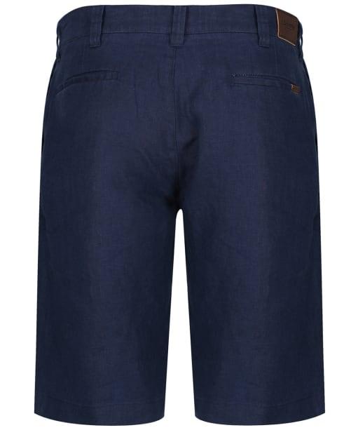 Men's Schoffel Linen Shorts - Navy