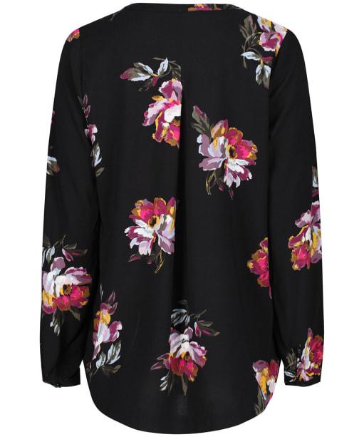 Women's Joules Rosamund Woven Top - Black Peony