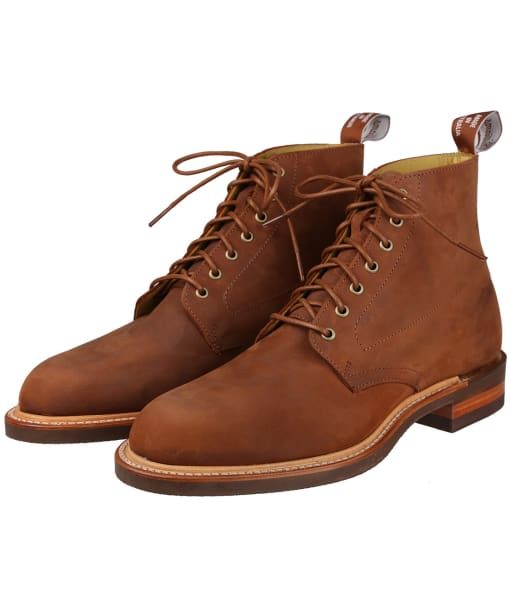 Men's R.M. Williams Rickaby Boots – G-Fit - Bark