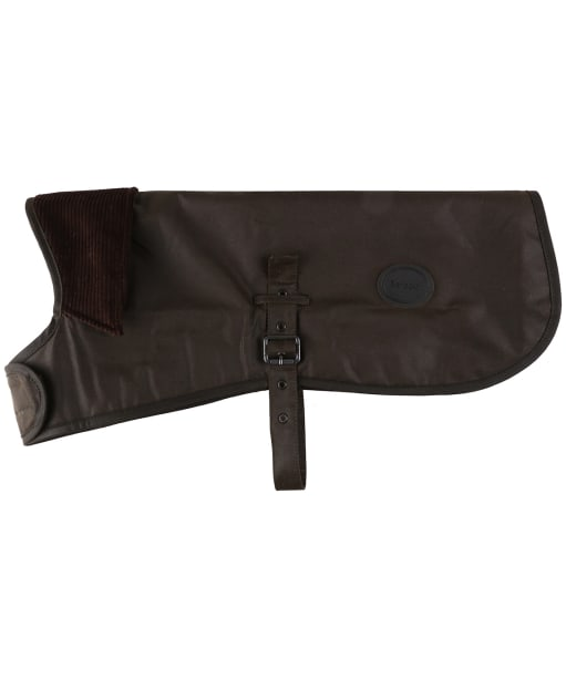 Barbour Waxed Cotton Dog Coat - Olive