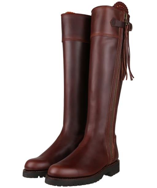 Women's Penelope Chilvers Long Tassel Boots - Conker