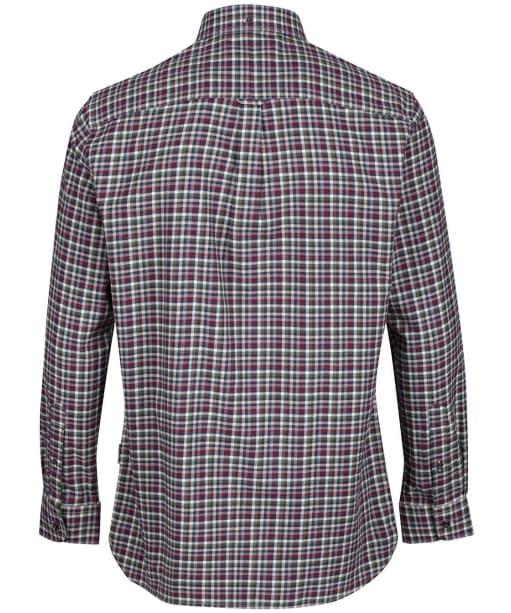 Men's Schoffel Berkshire Shirt - Fig / Navy / Beige