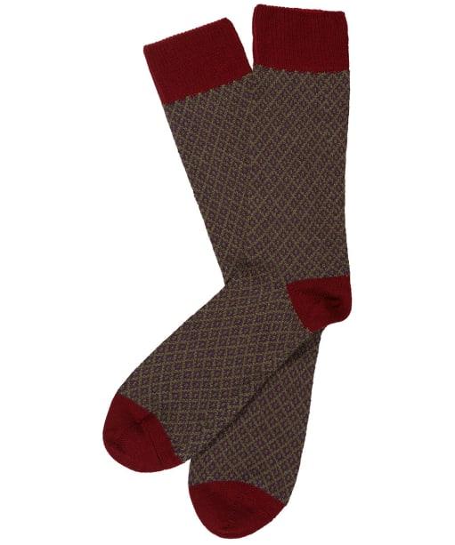 Men's Schoffel Helmsdale Socks - Claret