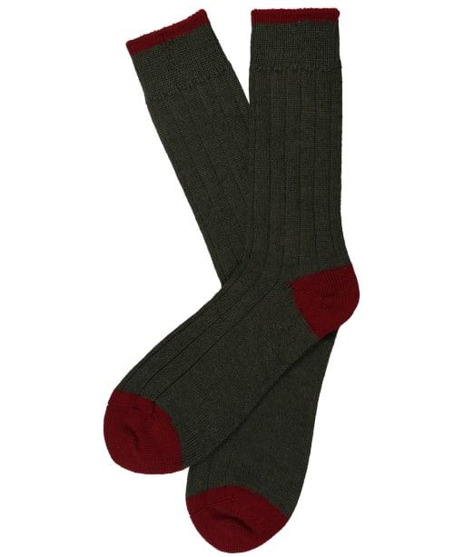 Men's Schoffel Hilton Socks - Forest