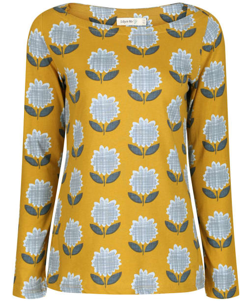 Women's Lily & Me Cleeve Top - Mustard