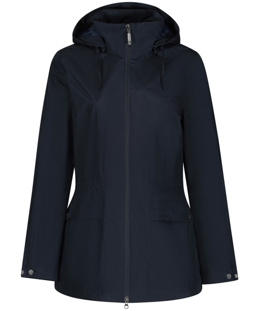 Women's Schoffel Hazelwood Packaway Waterproof Coat - Navy Blue