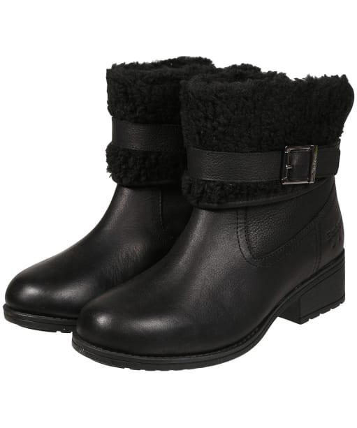 Women's Barbour Verona Ankle Boots - Black
