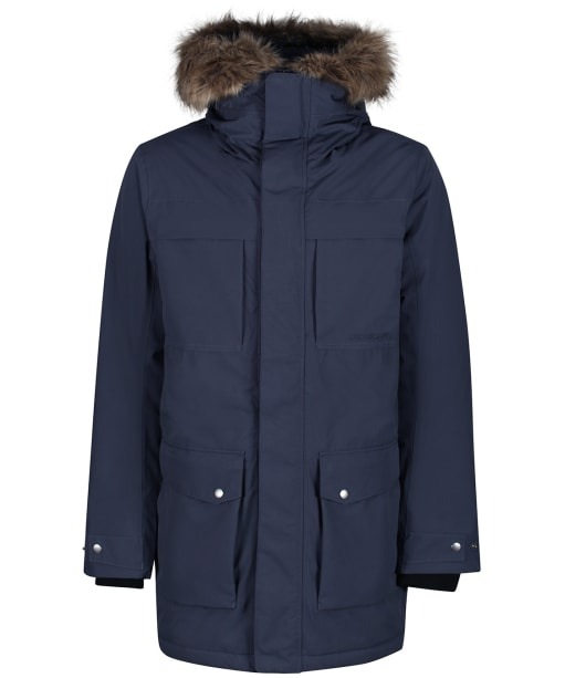 Men's Didriksons Reidar Waterproof Parka - Navy Dust