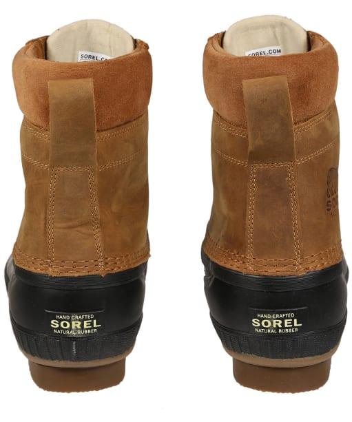 Men's Sorel Cheyanne II Waterproof Leather Boots - Chipmunk Black