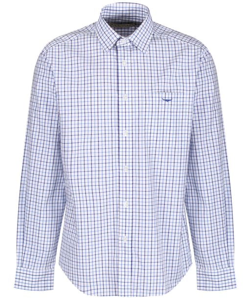 Men's R.M. Williams Collins Shirt - Pale Blue / Navy / White