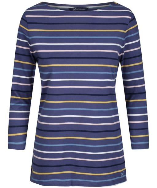 Women's Crew Clothing Essential Breton Top - Midnight