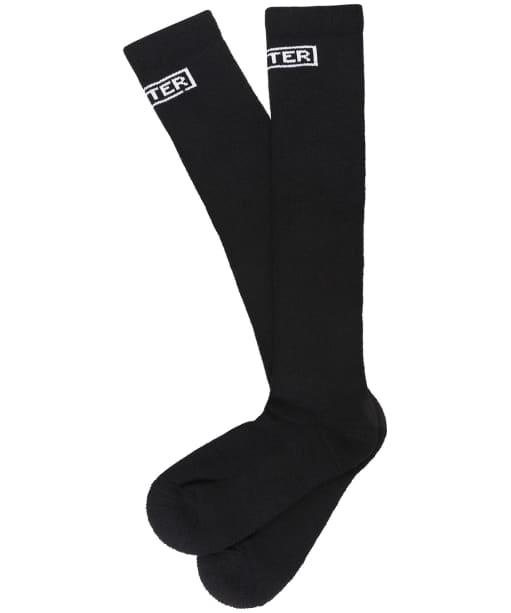 Ht Boot Sock Tall - Black
