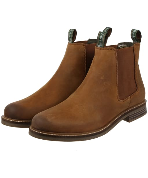 Men's Barbour Farsley Chelsea Boots - Dark Tan