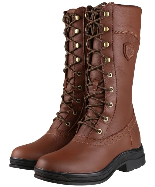 Women's Ariat Wythburn H2O Boots - Brick