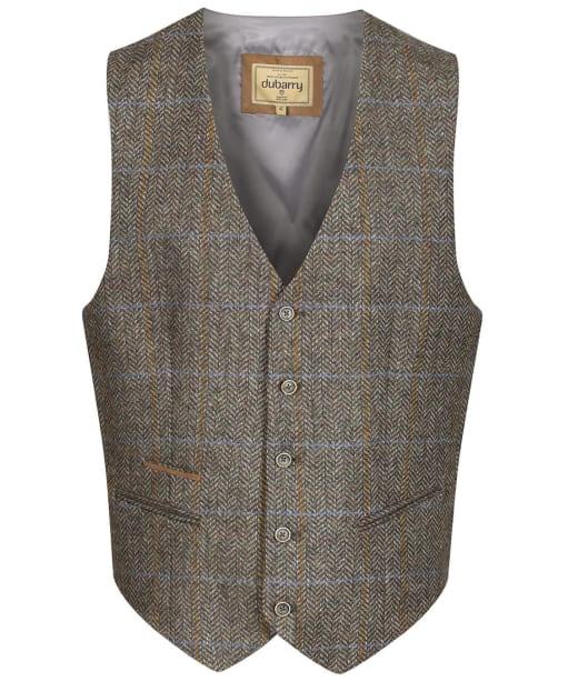 Men's Dubarry Ballyshannon Tweed Waistcoat - Woodbine