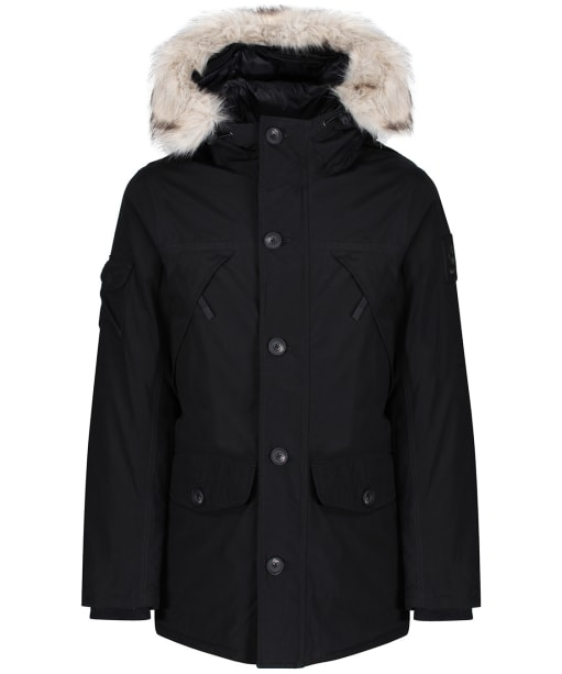 Men's Timberland DryVent™ Scar Ridge Parka Downfree Jacket - Black