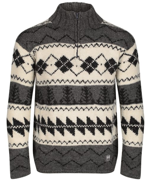 Men's Edmund Hillary Edmund Knit Argyle Sweater - Natural