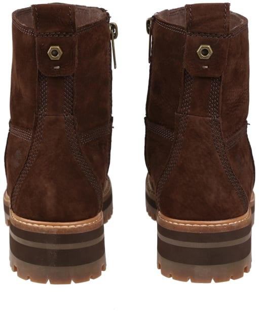 Women's Timberland Courmayeur Valley Faux Fur Boots - Dark Walnut