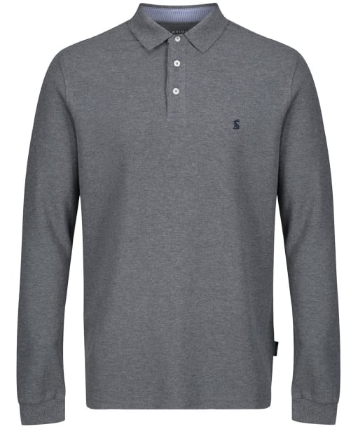 Men's Joules Woodwell Polo Shirt - Grey Marl