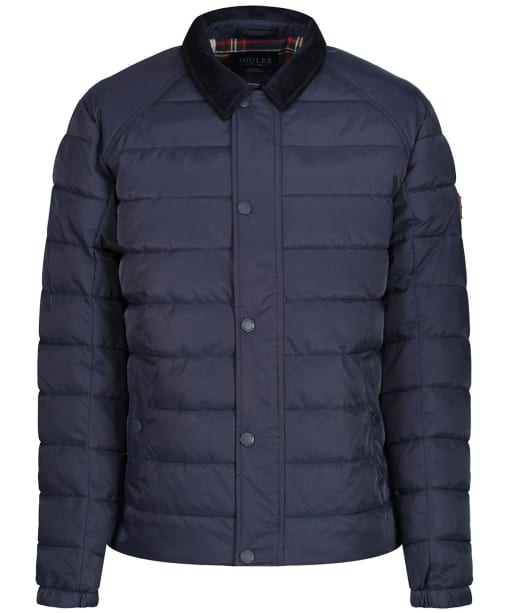 Men's Joules Bayford Padded Coach Jacket - Marine Navy