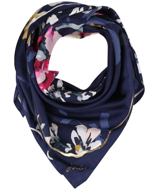 Women's Joules Bloomfield 30th Anniversary Silk Scarf - Cambridge Anniversary Floral