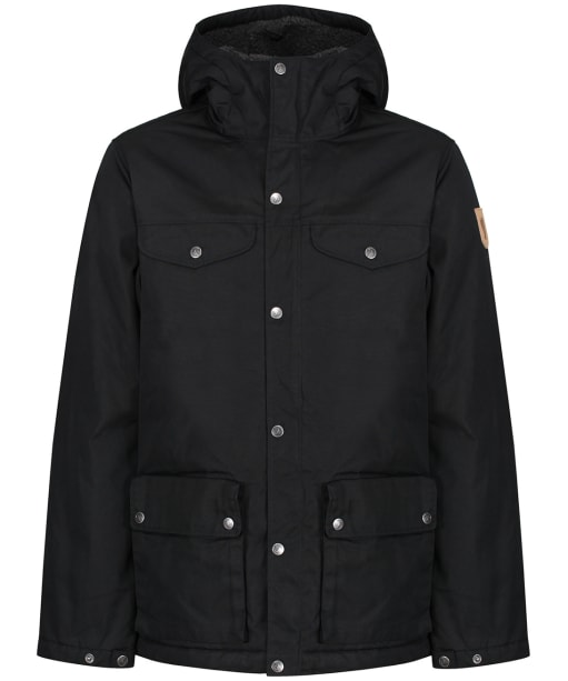 Men's Fjallraven Greenland Winter Jacket - Black