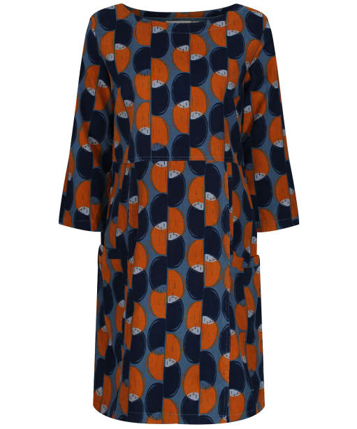 Women's Lily & Me Forest Trail Dress - Blue / Ginger