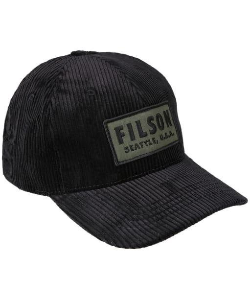 Filson Cord Logger Cap - Black