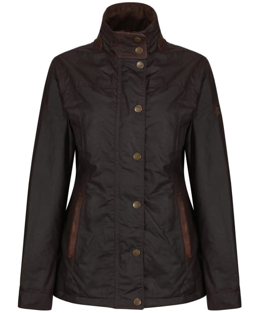 Women's Dubarry Mountrath Waxed Jacket - Java