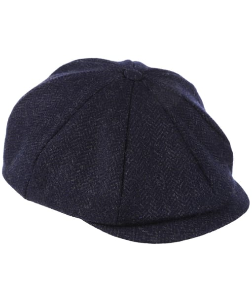 Dubarry Collins Baker Boy Tweed Cap - Midnight