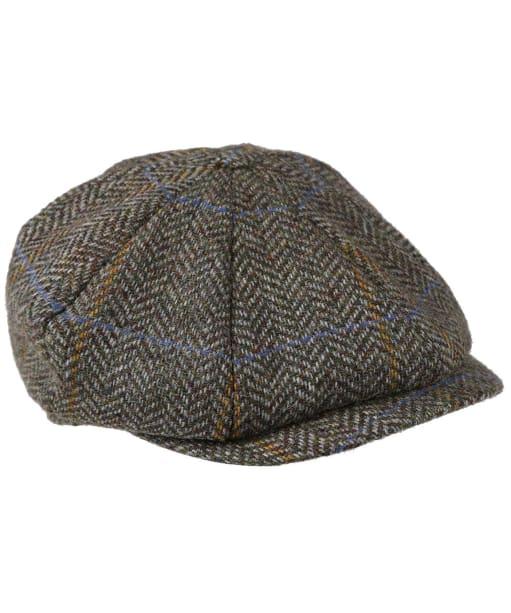 Dubarry Collins Baker Boy Tweed Cap - Woodbine