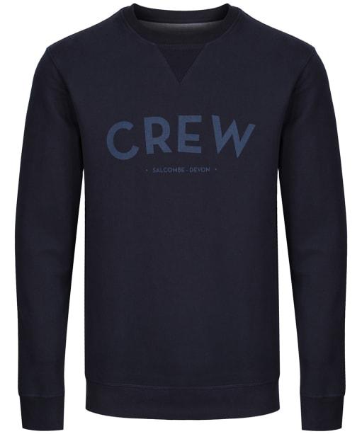 Men's Crew Clothing Cransley Crew Sweatshirt - Dark Navy