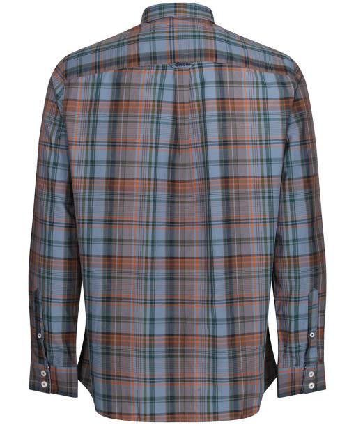 Men's Crew Clothing Ashworth Classic Shirt - Blue / Red / Ivy