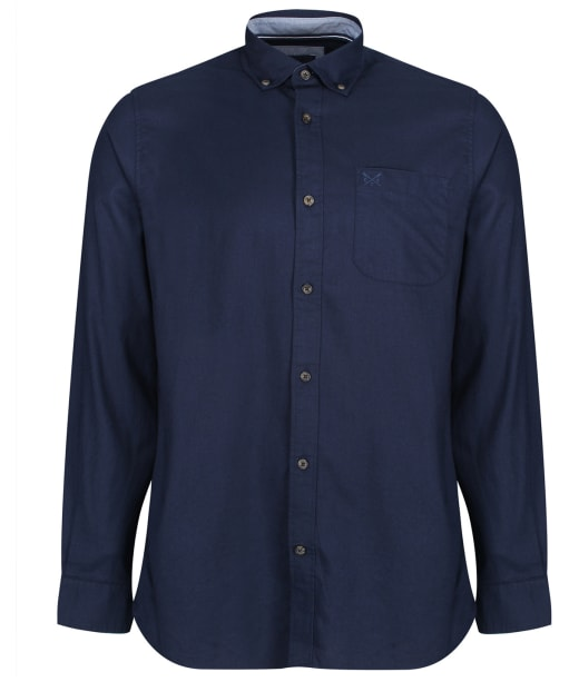 Men's Crew Clothing Greenfield Classic Shirt - Heritage Navy