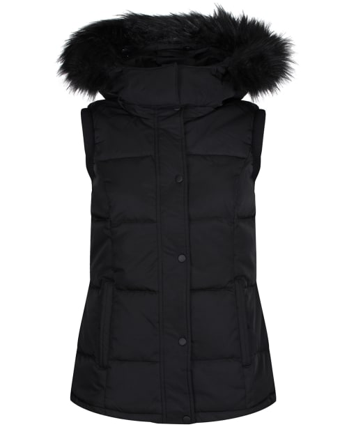 Women's Crew Clothing Down Gilet - Black