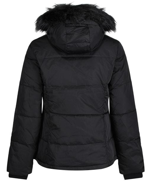 Women's Crew Clothing Down Jacket - Black