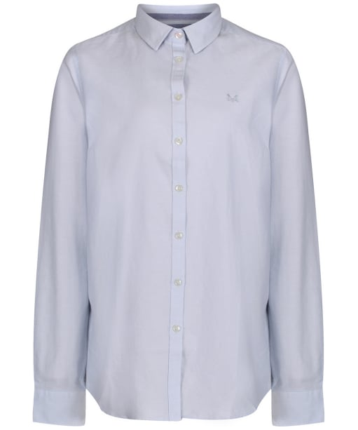 Women's Crew Clothing Oxford Classic Shirt - Classic Blue