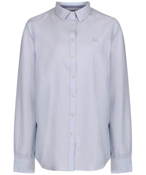 Women's Crew Clothing Oxford Classic Shirt - Classic Blue