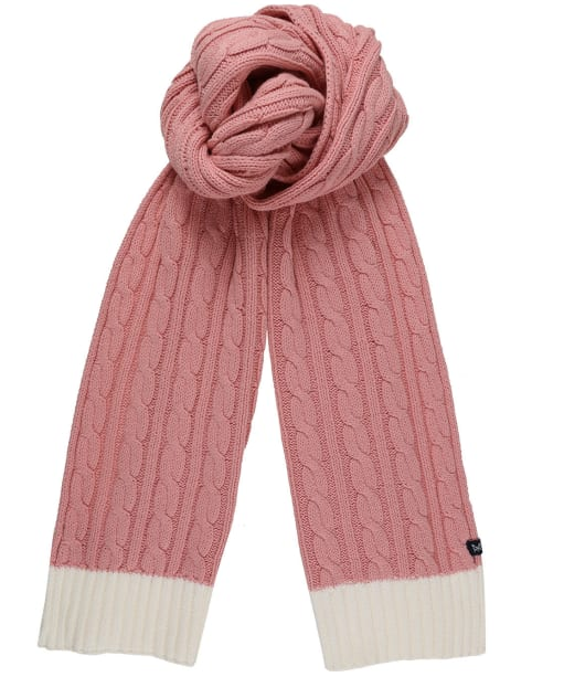 Women's Crew Clothing Ellesmere Scarf - Pink