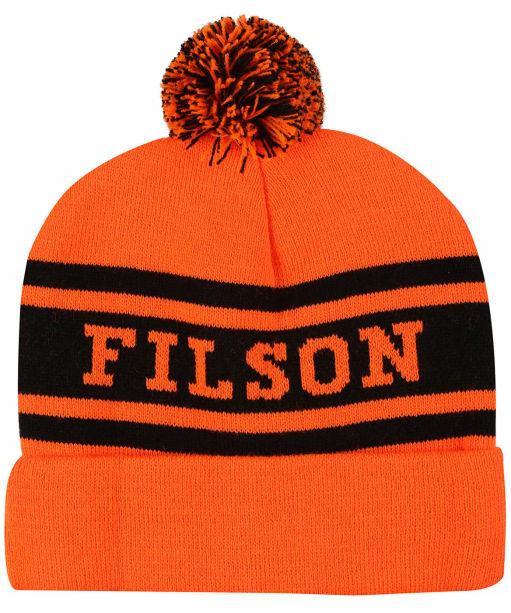 Filson Acrylic Logo Beanie - Blaze Orange