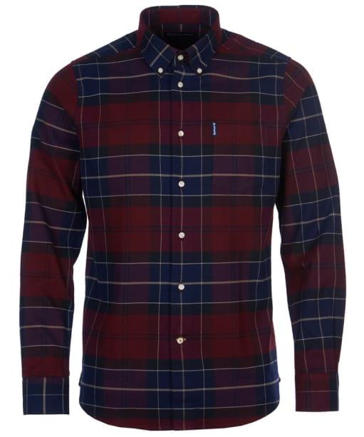 Men's Barbour Lustleigh Shirt - Merlot