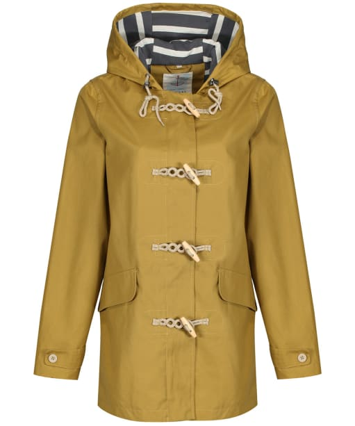 Women's Seasalt Long Seafolly Waterproof Jacket - Pear