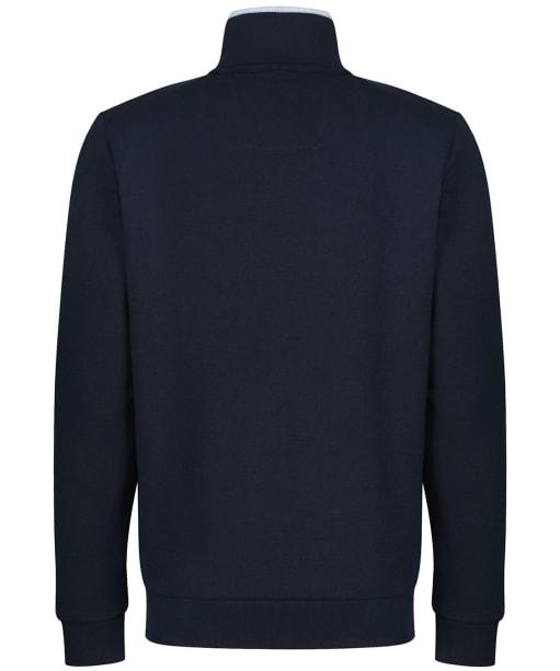 Men's Crew Clothing Classic Half Zip Sweatshirt - Navy