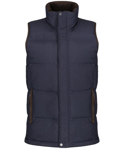 Men's Schoffel Twickenham Down Gilet - Weathered Navy