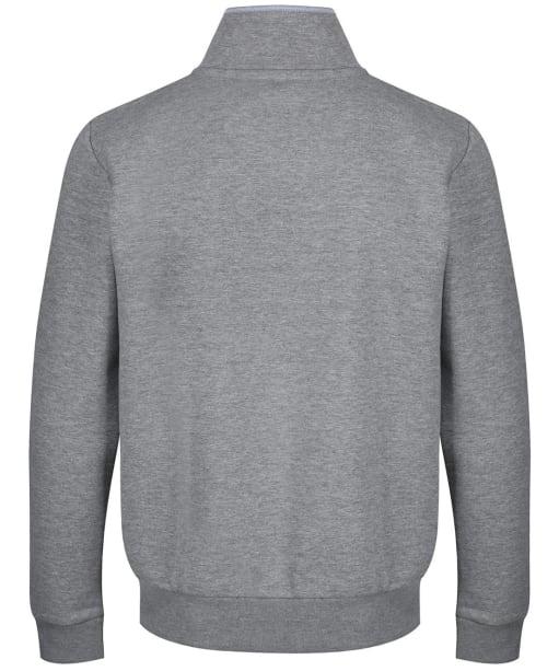 Men's Crew Clothing Classic Half Zip Sweatshirt - Grey Marl