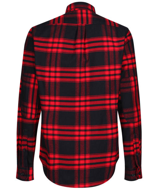 Men's Timberland Back River Flannel Check Shirt - Barbados Cherry