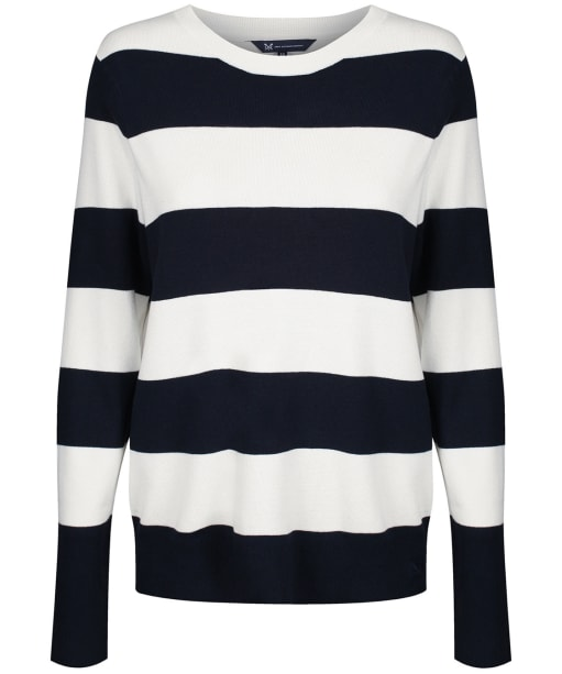 Women's Crew Clothing Sandford Jumper - Navy / White