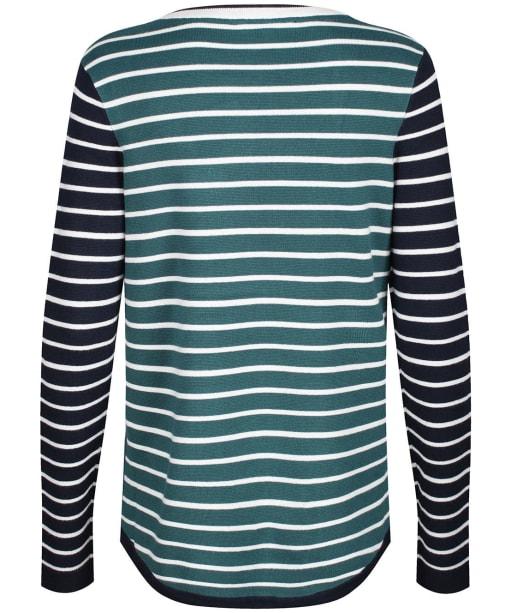 Women's Crew Clothing Mix Stripe Jumper - Navy / White